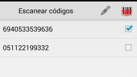 aplicacion gestion codigos de barras
