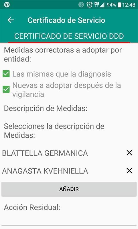 Aplicacion Certificados de plagas