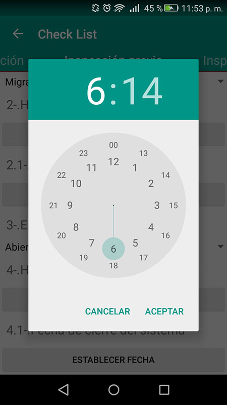Software Control de horas