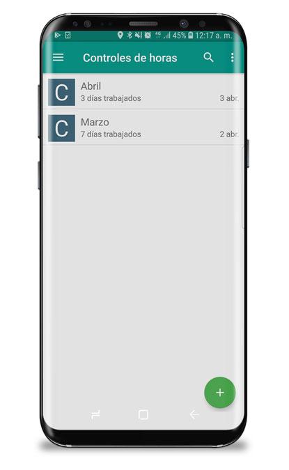 app control horario