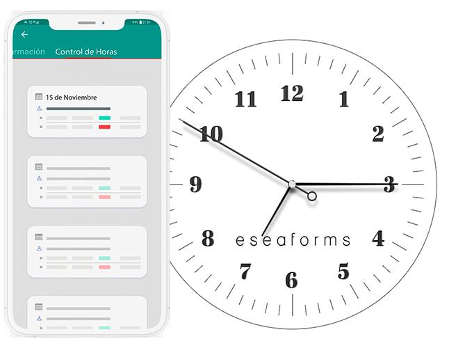 software control de horas